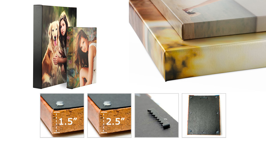 Canvas Wrap Print and Product Information
