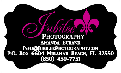 WebsiteContactInfo Contact Jubilee Photography (850) 459 7751