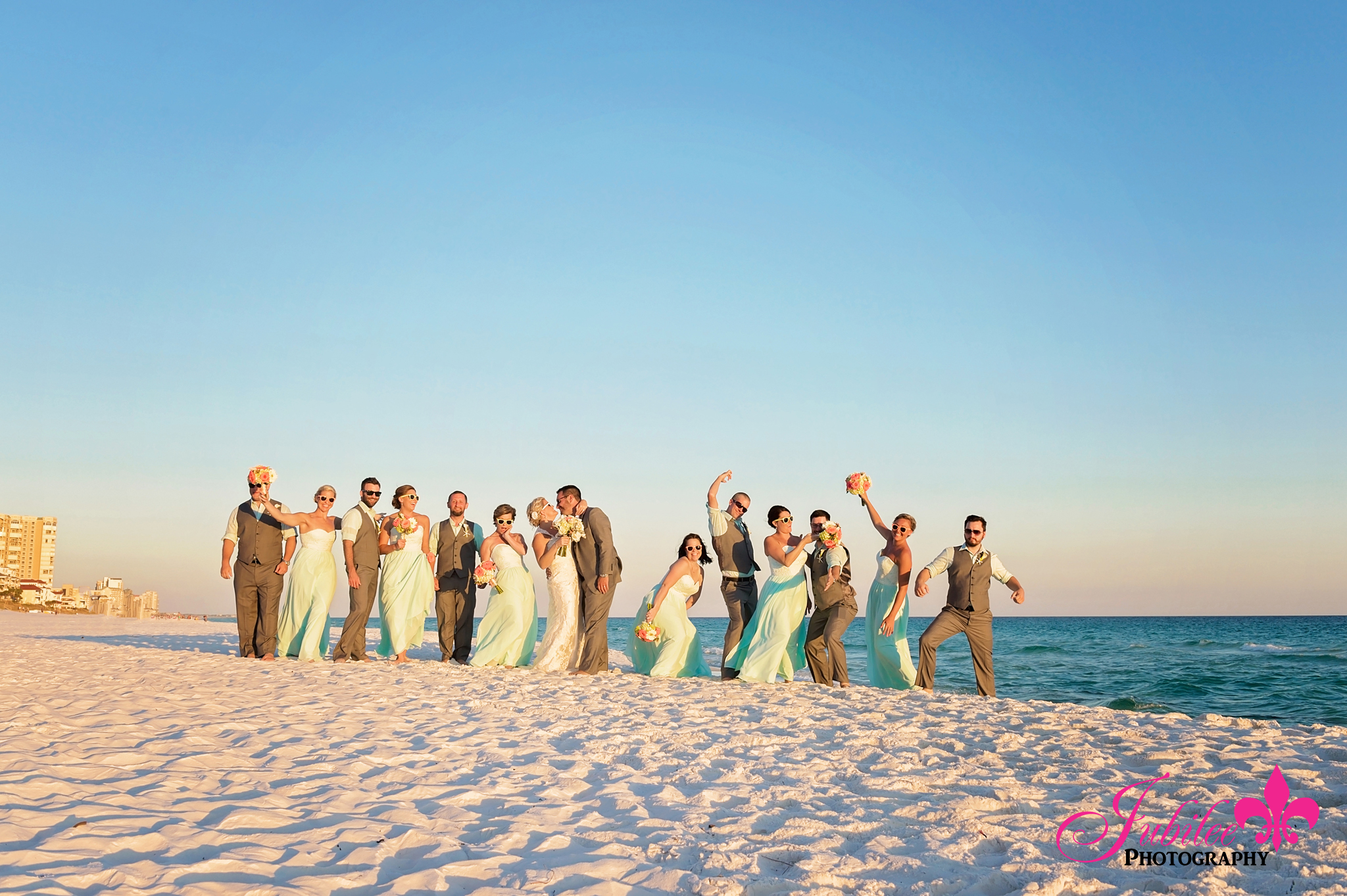 karen adam destin florida beach wedding