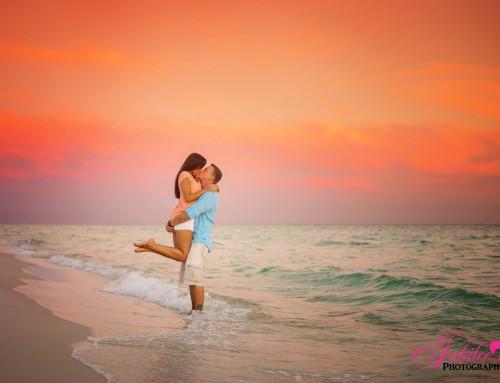 Erica + Rich – Destin Engagement Photographer