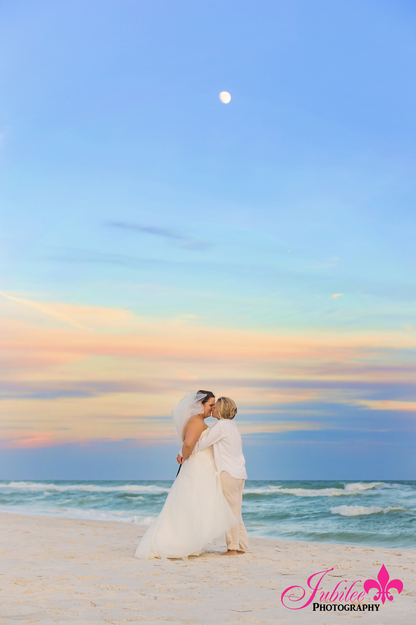 Kelly Dottie Pensacola Beach Wedding