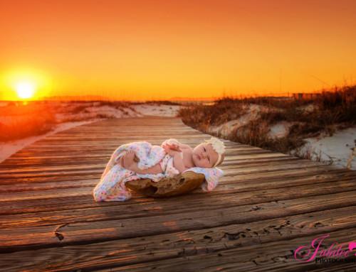 Princess Cadence – Newborn Photographer Destin