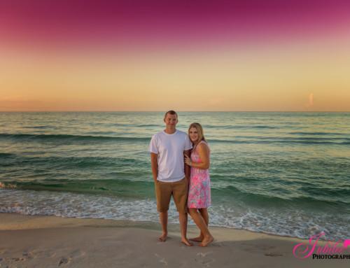 Hannah + Grant – Sunrise Couples Destin Beach Session