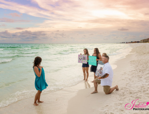 Surprise Proposal – Destin FL Photographer