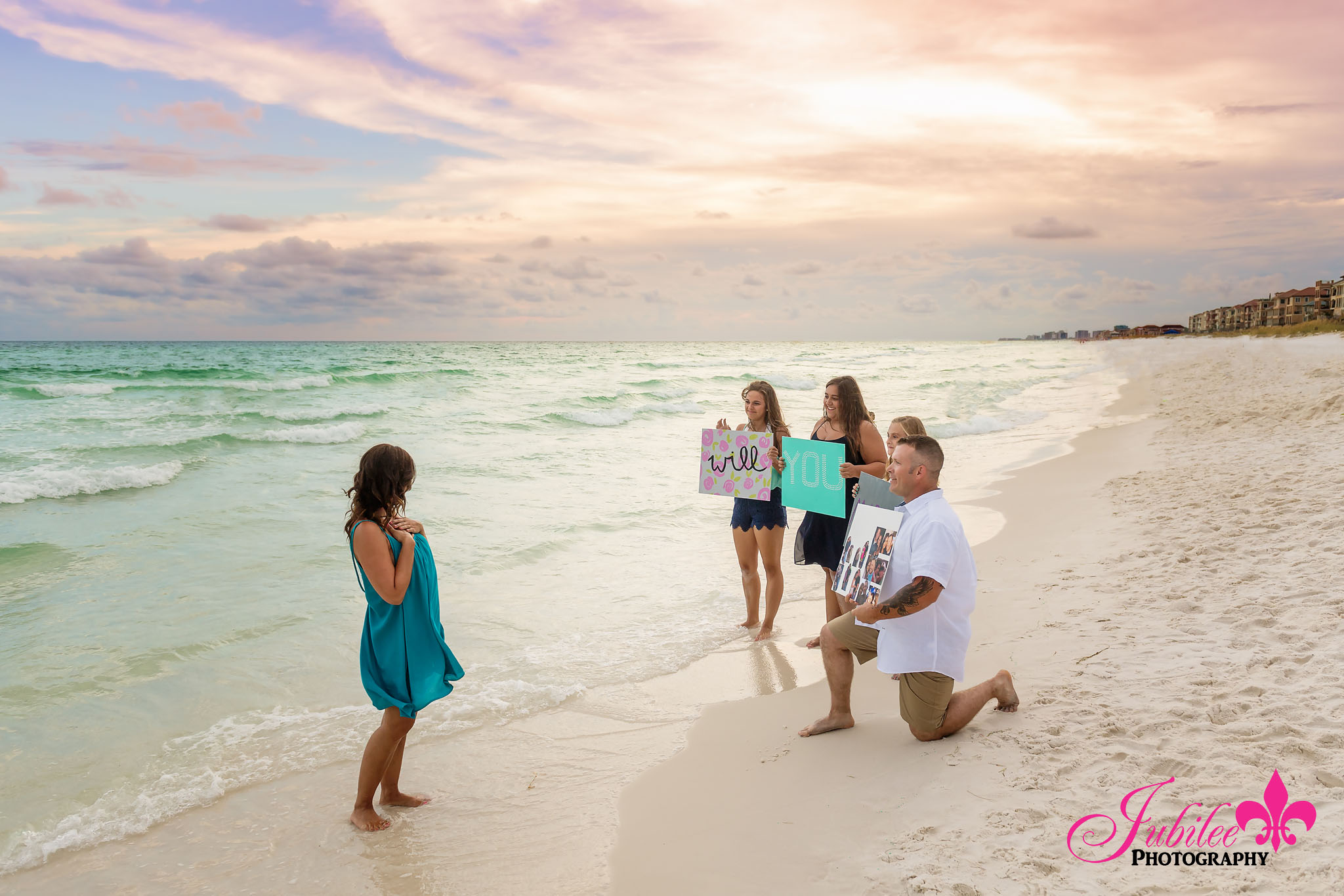 Surprise Proposal – Destin FL Photographer