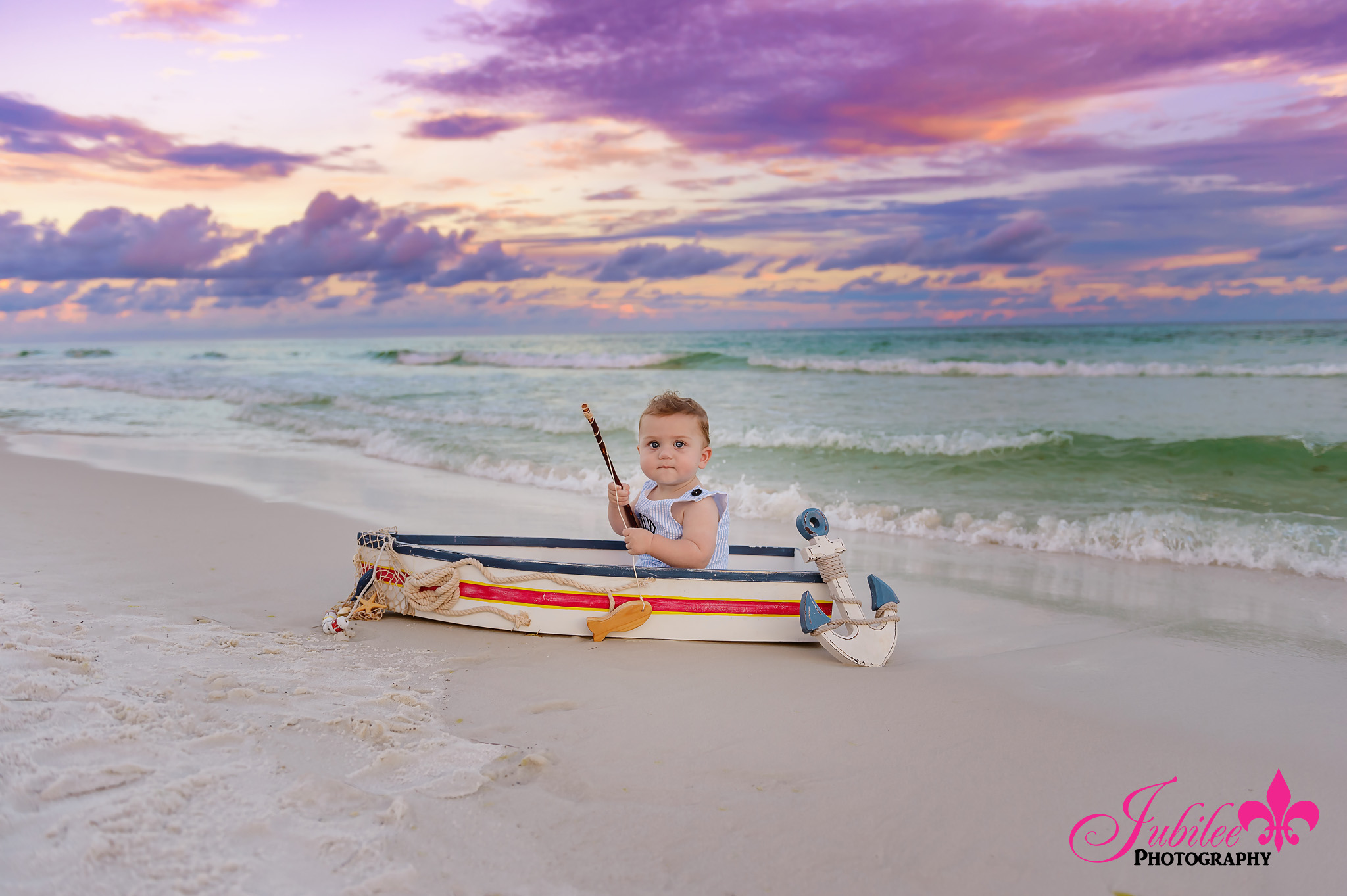Glenn Family – Destin Sunset Family Photographer