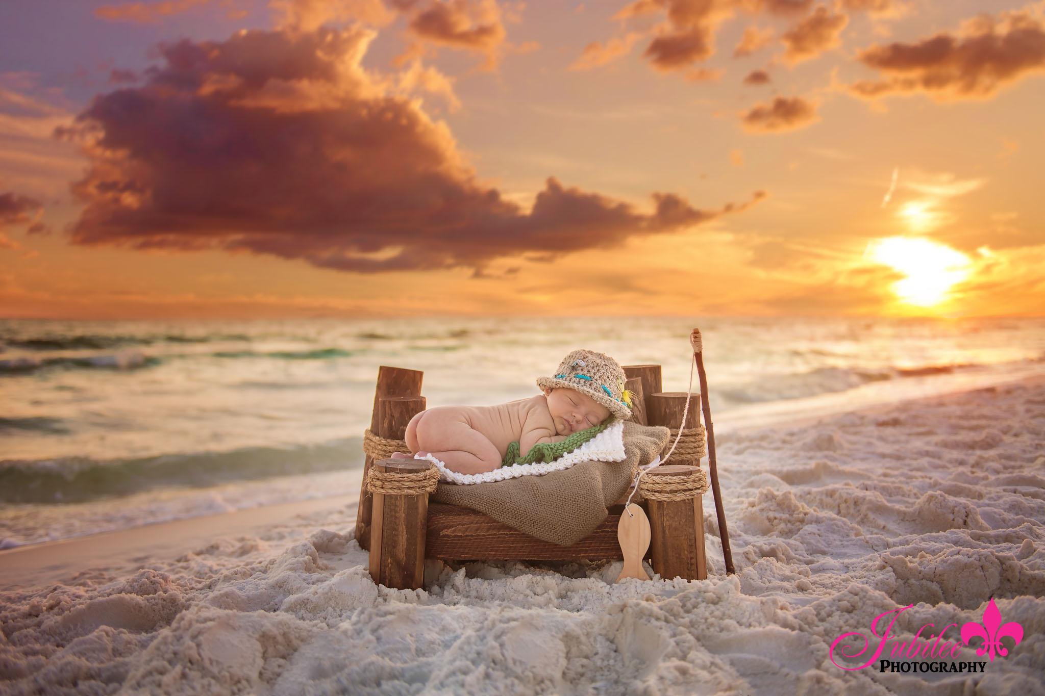 Baby Xavi – Destin Newborn Photographer