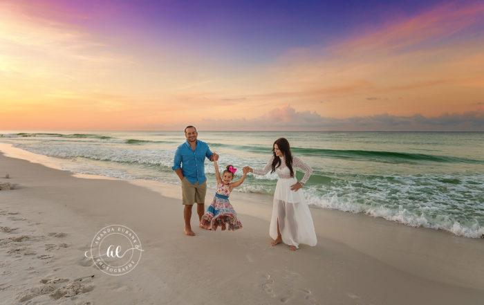 Sunrise Family Beach Photographer Mikhayel